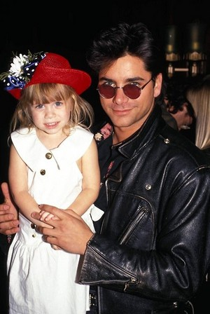 John Stamos and Mary-Kate/Ashley Olsen