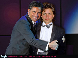 John Stamos and his youngerself