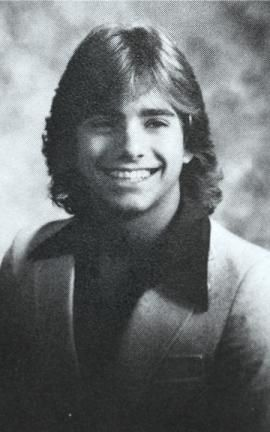 John Stamos yearbook 照片