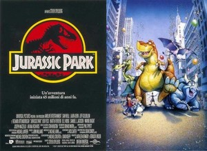 Jurassic Park e We're Back! - 4 dinosauri a New York