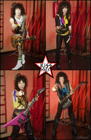KISS 1983 (Lick it Up tour)