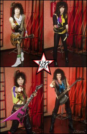 किस 1983 (Lick it Up tour)