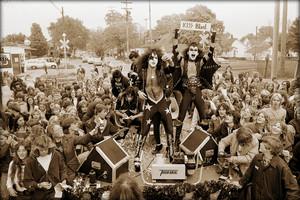 Kiss ~Cadillac, Michigan…October 10,1975