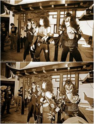 吻乐队(Kiss) ~Hollywood, California…February 24, 1976 (Grauman's Chinese Theater)