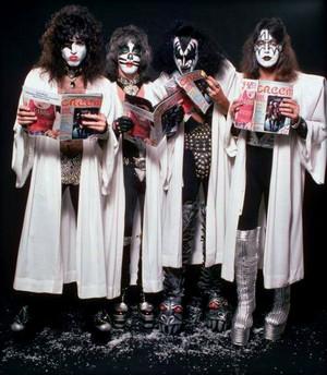 Kiss ~Hollywood, California…October 19, 1976 (Creem Magazine)