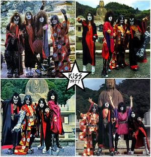 KISS ~Kyoto, Japan…March 27, 1977 (Spirit Temple)