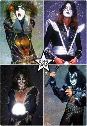 KISS (NYC) April 9, 1976 (Destroyer-Glitter session)