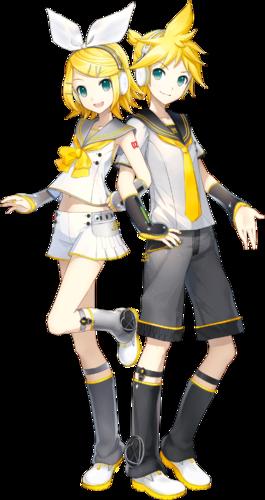 Kagamine Rin and Kagamine Len V4x