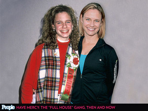 Kimmy Gibbler then and now