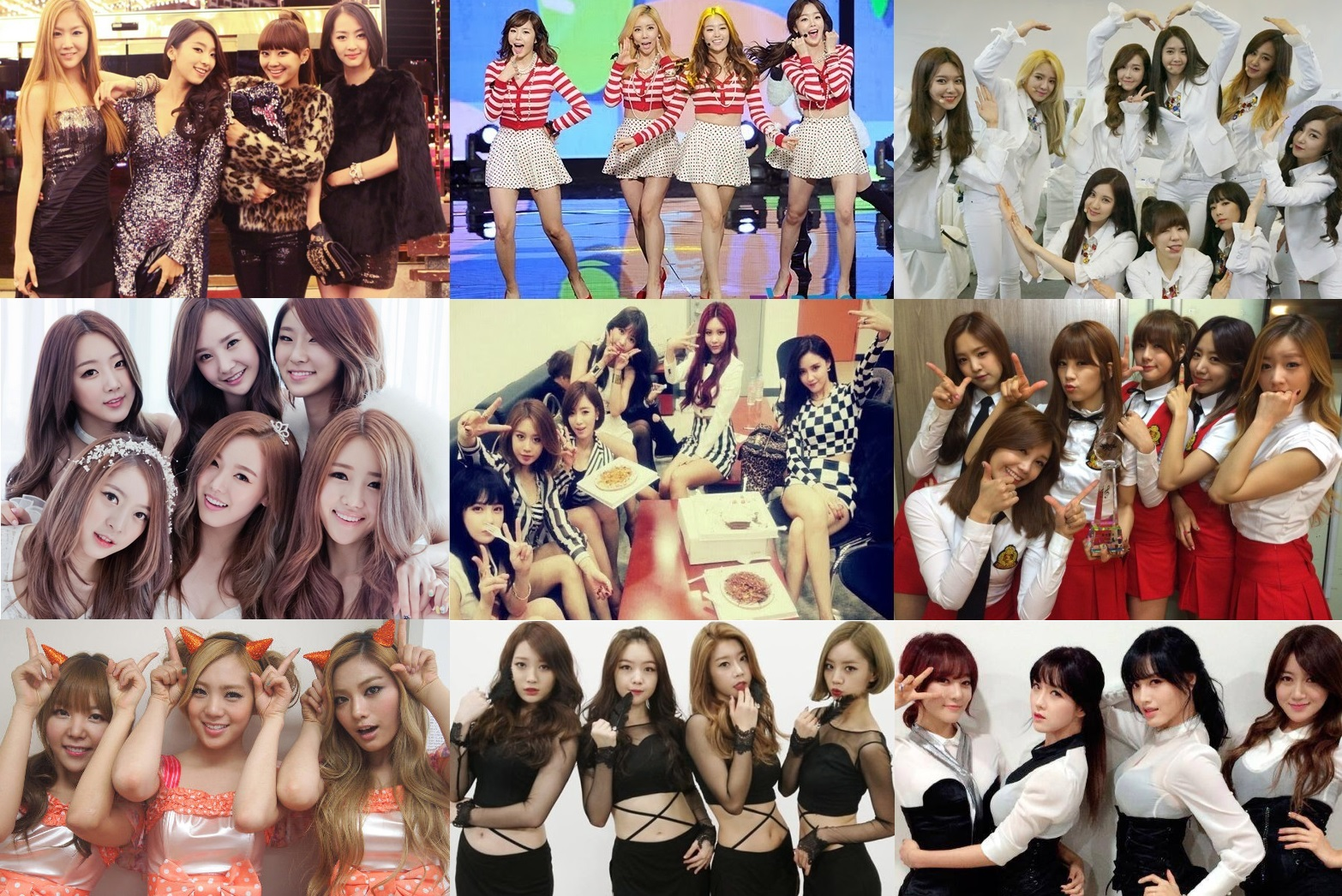 top 10 k pop girl s group