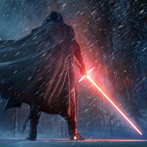 Star Wars wallpaper possibly containing a fire entitled Kylo Ren
