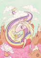 Lady Rainicorn (and Her Children) - adventure-time-with-finn-and-jake fan art