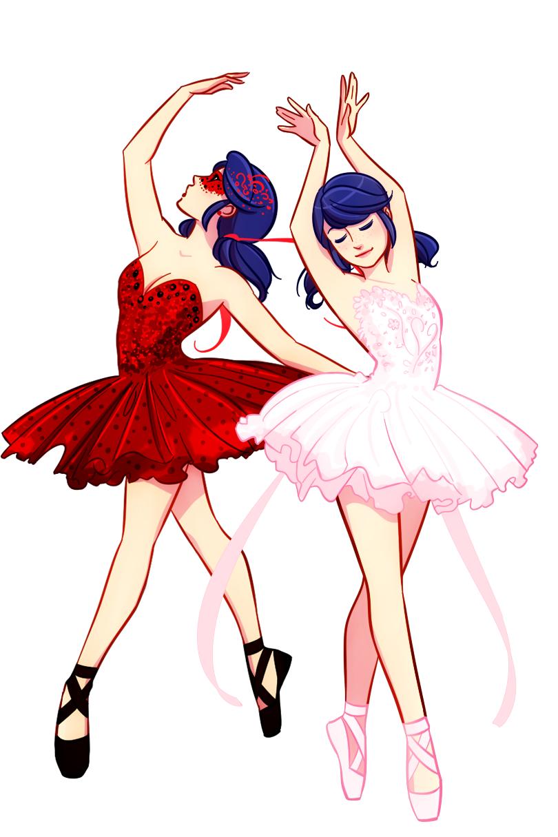 Ladybug and Marinette