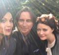 Lana, Emilie and Robert - once-upon-a-time photo