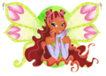 Layla Enchantix - the-winx-club fan art