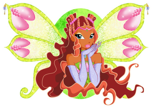 Winx Club fond d'écran called Layla Enchantix
