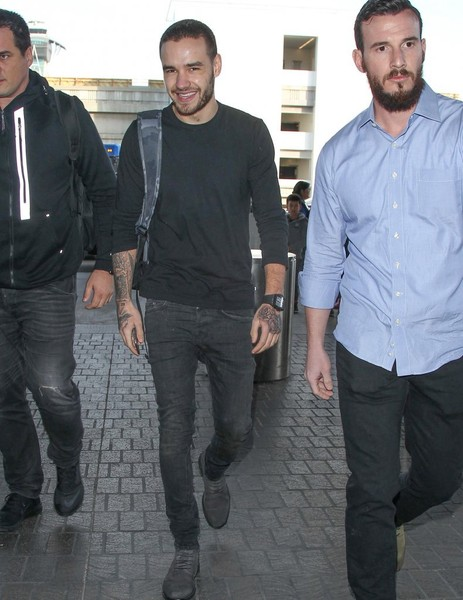 Liam at LAX airport