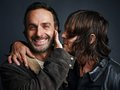 Lincoln and Reedus ~ TV Guide Magazine - the-walking-dead photo