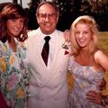 Lisa Marie with Joe Esposito and his daughter Cindy