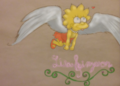 Little Winged Lisa - lisa-simpson fan art