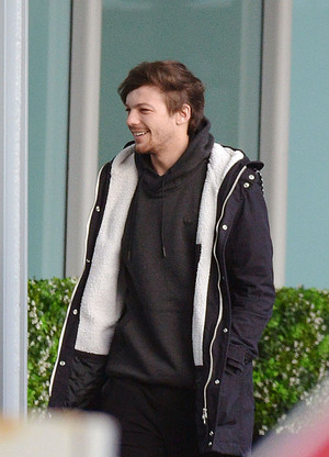 Louis at the Airport in London