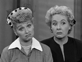 Lucy and Ethel Thinking