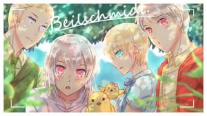 Ludwig, Julchen, Monica and Gilbert. Beilschmidt family