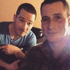 Luke Macfarlane and Brendan Fehr