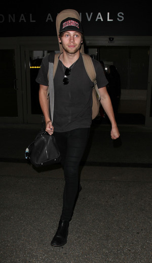 Luke in LAX