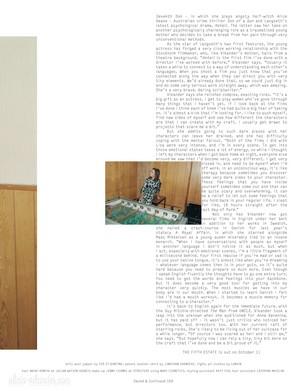 Magazine scans: Dazed and Confused (October 2013)