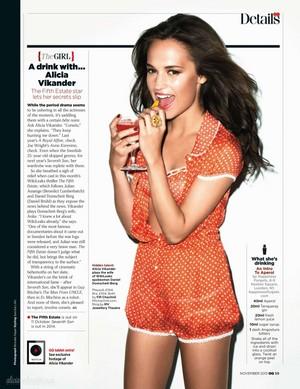 Magazine scans: GQ UK (November 2013)