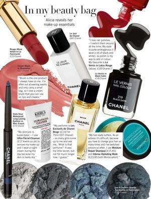 Magazine scans: Glamour UK (October 2013)