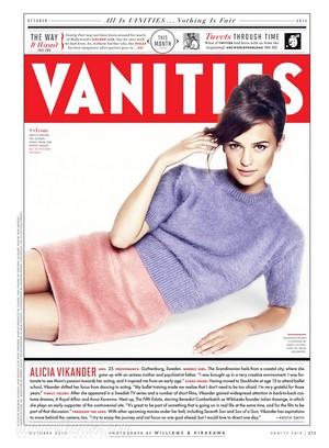 Magazine scans: Vanity Fair (October 2013)