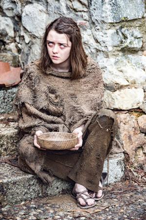 Maisie as Arya Stark - Season 6