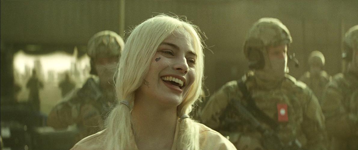Margot Robbie as Harley Quinn