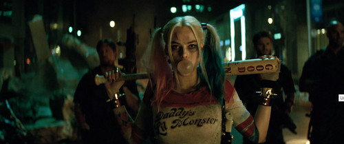Suicide Squad Wallpaper Probably Containing A Concert Called Margot Robbie As Harley Quinn