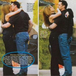Matt LeBlanc and Jennifer Aniston