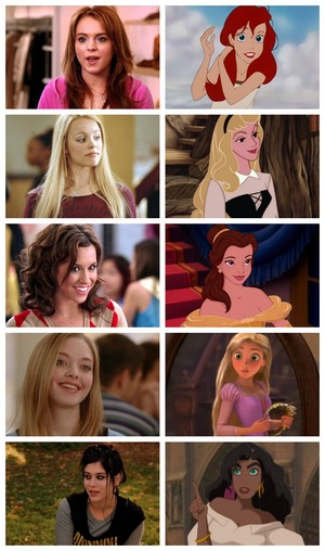 Mean Girls -- my Disney Cast