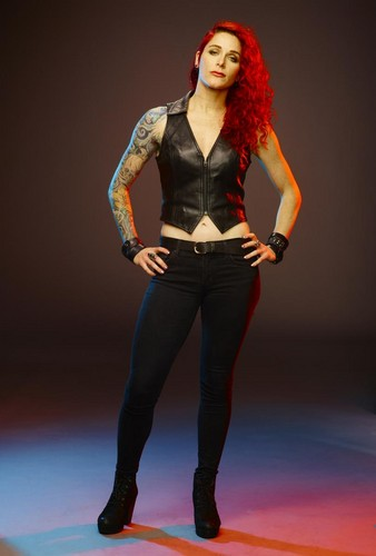 Ink Master wallpaper containing tights entitled Megan Jean Morris | Ink Master: Revenge (Season 7)