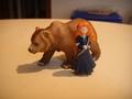 Merida e il grizzly - brave photo