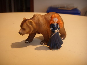 Merida e il grizzly