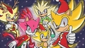 Merry Super Christmas  - sonic-the-hedgehog fan art