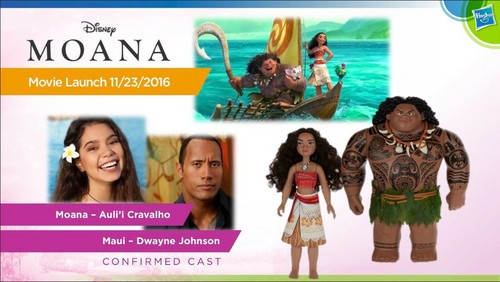 Disney Princess wallpaper possibly with anime entitled Moana Dolls from Hasbro