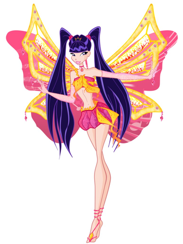 the winx club wallpaper titled Musa Enchantix