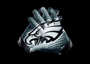 NFL 2012 Eagles VaporJet2Glove original