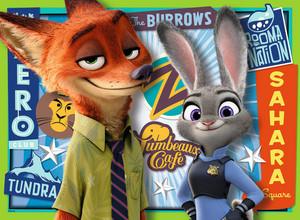 Nick and Judy