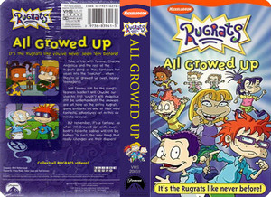Nicklodeon's Rugrats All Growed Up VHS