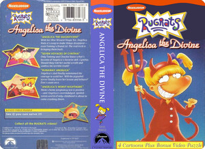 Nicklodeon's Rugrats Angelica The Divine VHS