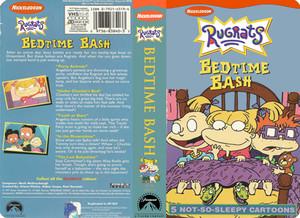 Nicklodeon's Rugrats Bedtime Bash VHS