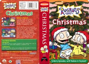 Nicklodeon's Rugrats Christmas VHS